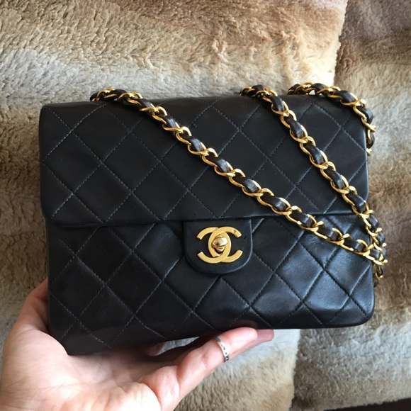 666d79d74441ee CHANEL Handbags - SALE Chanel vintage mini square single flap bag